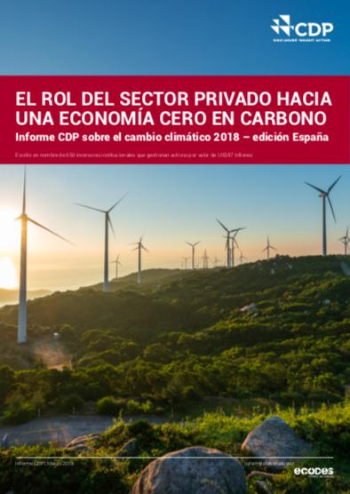 Imagen Informe CDP 2018