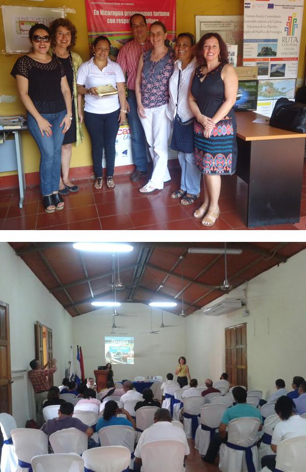 Zaragoza y León (Nicaragua) comparten sus experiencias sobre turismo responsable